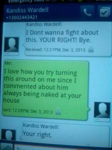 kandiss your right